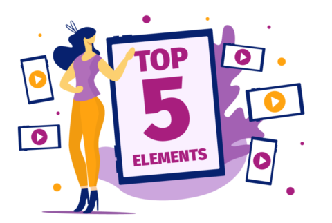 Top 5 Elements for quality video ads