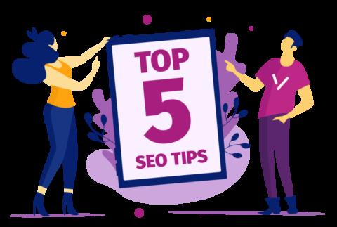 Top 5 SEO Video Tips
