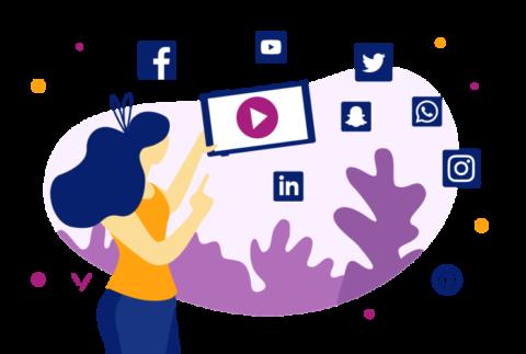 video and social media